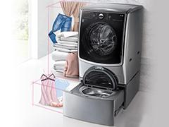 """洗衣机变身""""LOFT"""" LG双擎同步分类洗衣机首测"""