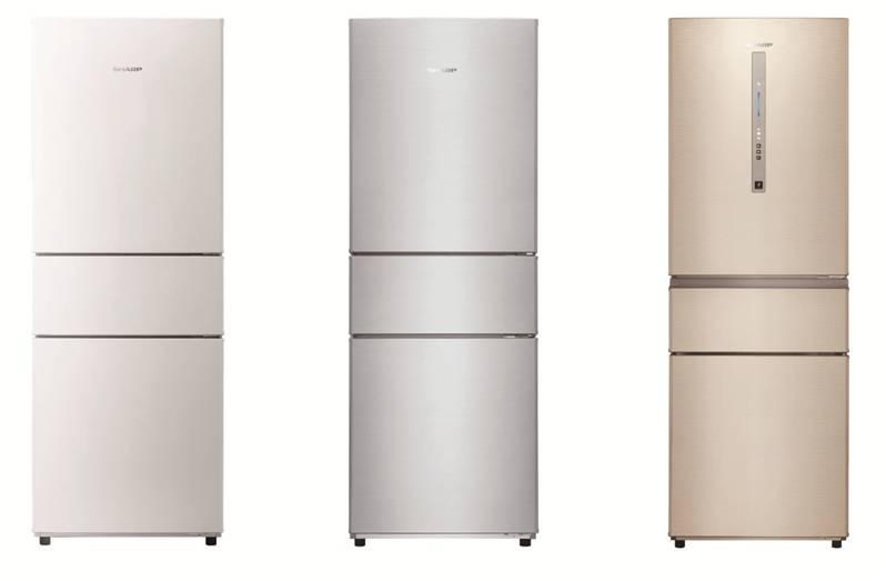 新无霜风冷三门冰箱(部分产品)