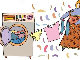 秋雨天寒晾衣难 选带烘干功能的洗衣机