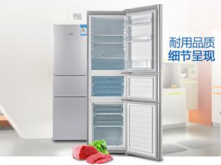 精致小巧爱亦非凡 尽在帝度三门直冷冰箱