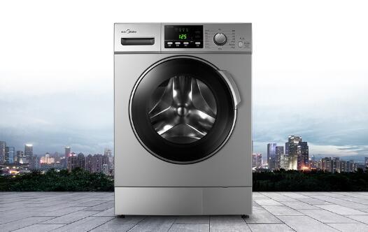 洁净偶像派 美的大容量滚筒洗衣机热卖