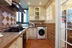 洗衣机摆放有讲究 教你节省空间又美观