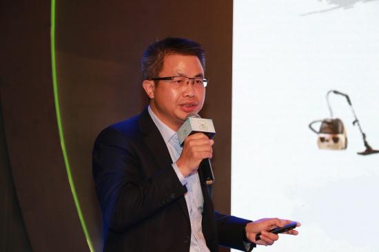 莱克电气股份有限公司品牌战略部总监彭杰分享莱克净水经验
