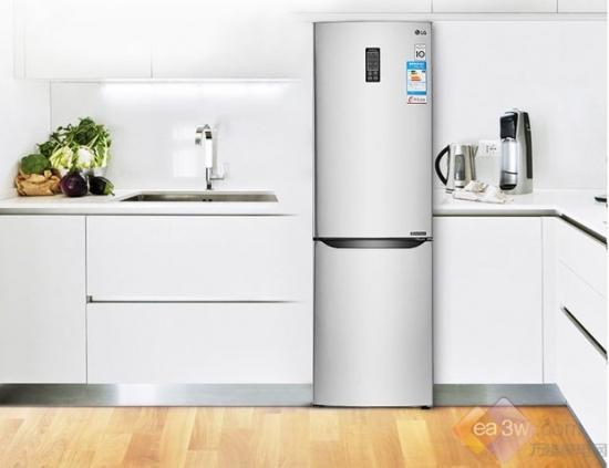 超大两门设计 lg无霜冰箱助力新鲜生活