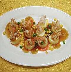 家电美食汇——嫩滑美味的虾仁玉子豆腐