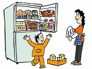 年货囤积不用愁 冰箱合理摆放更能储鲜