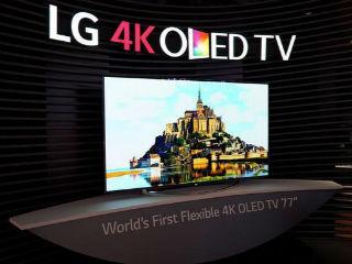 LG欲在CES展示OLED电视 薄如纸可挂墙上