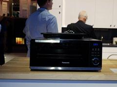 感应+红外加热 松下最新款电磁烤箱太强大