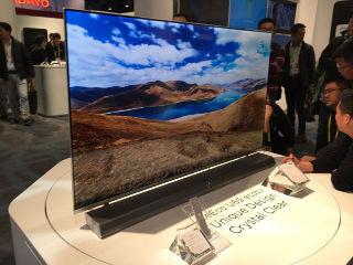 乐视CES推无边框电视 全玻璃设计厚6.9mm