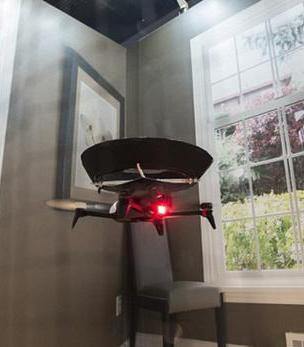 世界第一台空净无人机