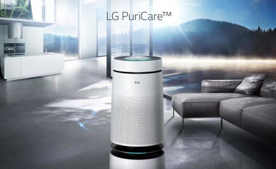 实现360°净化 LG PuriCare空气净化器首测