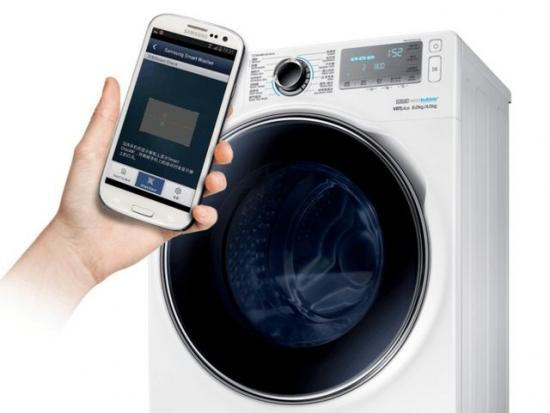 可APP控制的洗衣机 时尚年轻人的好选择!