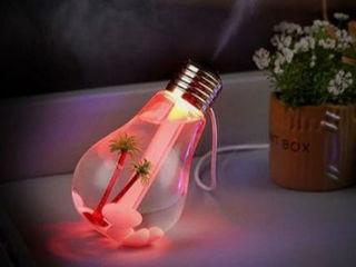 废物利用到极致 岛国人把老灯泡改成加湿器