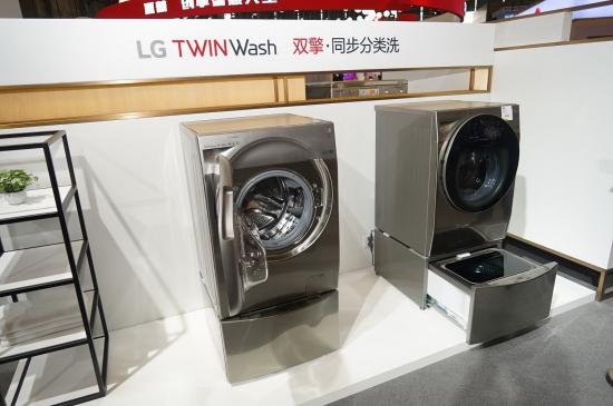 双擎同步分类洗 LG TwinWash利发国际利发国际手机客户端版亮相AWE