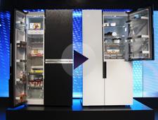 西门子零度PLUS对开门冰箱首秀