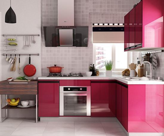 不挑户型的16款厨房设计,L型绝对是百搭款!