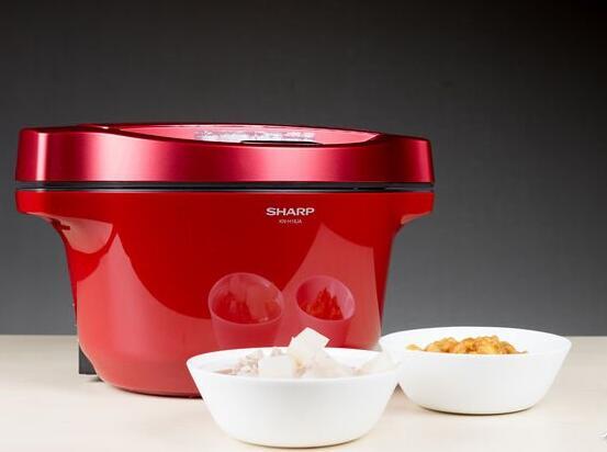 夏普无水电炖锅 厨房菜鸟也能做出美味菜肴