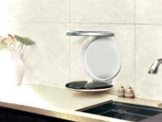 只占O平米 能折叠进墙壁的烟机和灶具