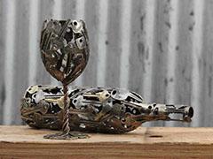 哇!废弃的钥匙还能做成艺术品