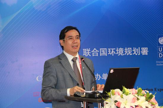 环境保护部环境保护对外合作中心主任陈亮