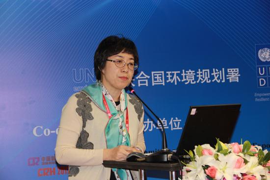 UNDP蒙特利尔议定书和化学品项目部主管周晓芳