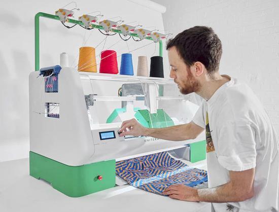 3D打印被秒 新式智能缝纫机将卷土重来