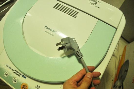 安全须知:什么情况要给洗衣机单独配插座