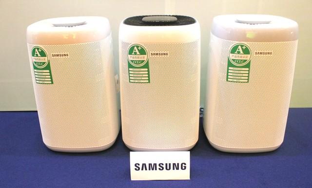 三星空净AX3300系列获高端家电认证
