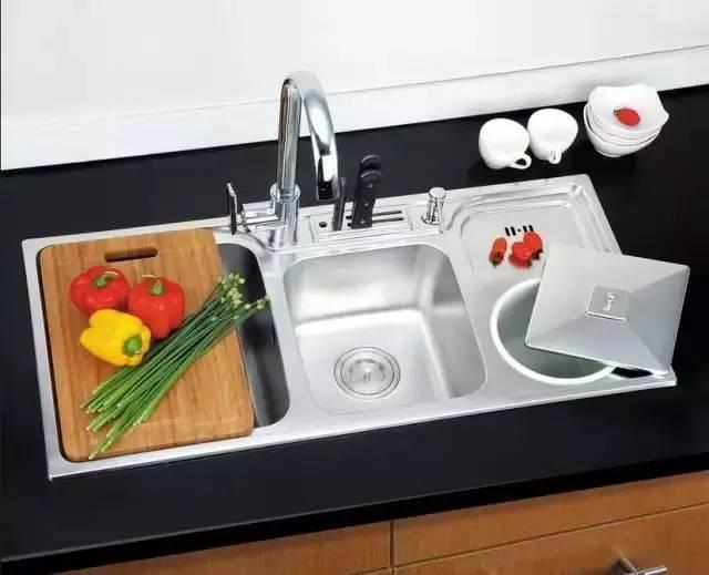 家装厨房中水槽该如何选择?不要上当了哦!