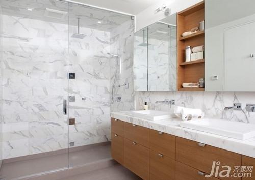 生活小窍门:卫浴瓷砖这样搭 洗澡更放松