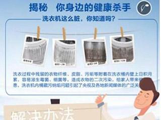 海尔洗衣机在青岛启动健康清洗行动:品牌不限