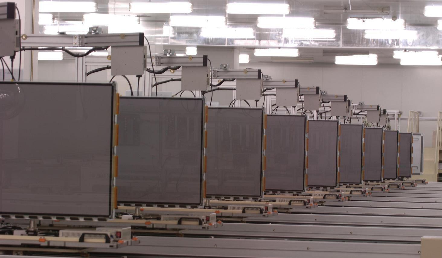 中国有望超过日韩 跃升面板生产第一大国