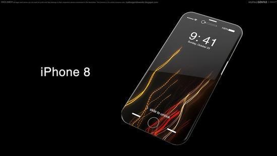 要涨价?瑞银:苹果iPhone 8起售价约5990元
