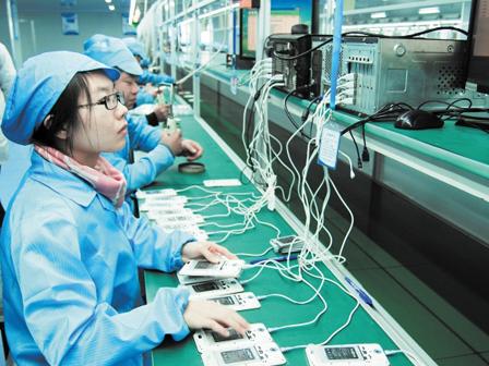 三大莞产智能手机占全球市场份额22%