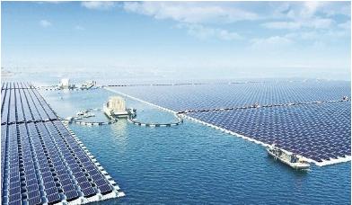 中国建成全球最大漂浮式太阳能电站