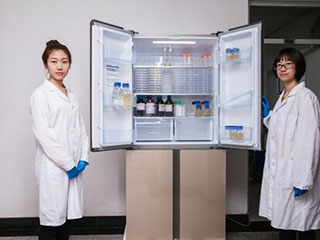 中国农大实验室选冰箱的标准:全空间保鲜