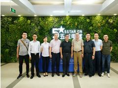 美的副总裁殷必彤造访五星电器,抢滩年中庆空调消费