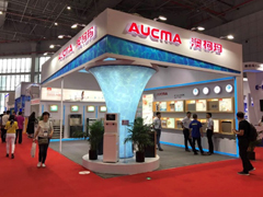 澳柯玛新品亮相上海国际水展