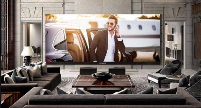 美国制造出世界上最大电视机价值53.9万美元