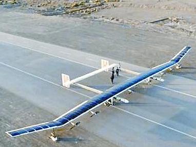 """中国""""彩虹""""太阳能无人机未来可飞数年"""