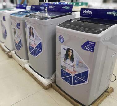 海尔洗衣机巴基斯坦份额增长40%行业NO.1