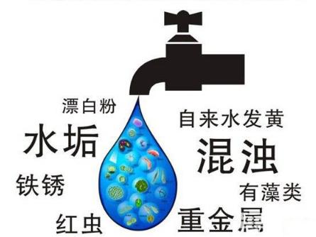 自来水中铁锈损害肝脏 净水器守护家人健康