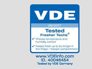 海尔全空间保鲜冰箱唯一通过德国VDE认证