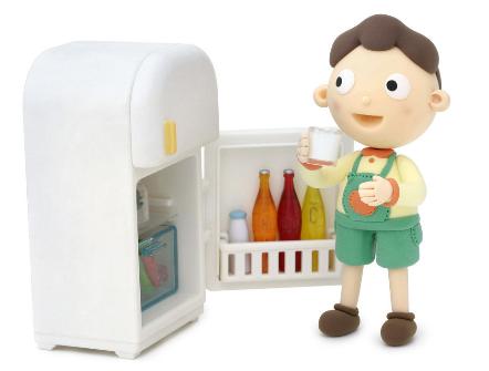 """孩子吃冰镇食物过多容易得""""冰箱病"""""""