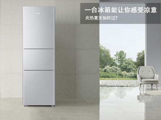 炎热夏天如何过?一台冰箱能让你感受凉意