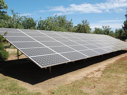 全国首座百兆瓦太阳能光伏发电实证基地建成