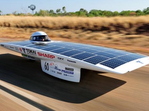 神器黑科技:太阳能赛车打破了世界纪录