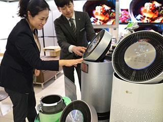 韩国去年空气净化器对华出口同比增74.9%