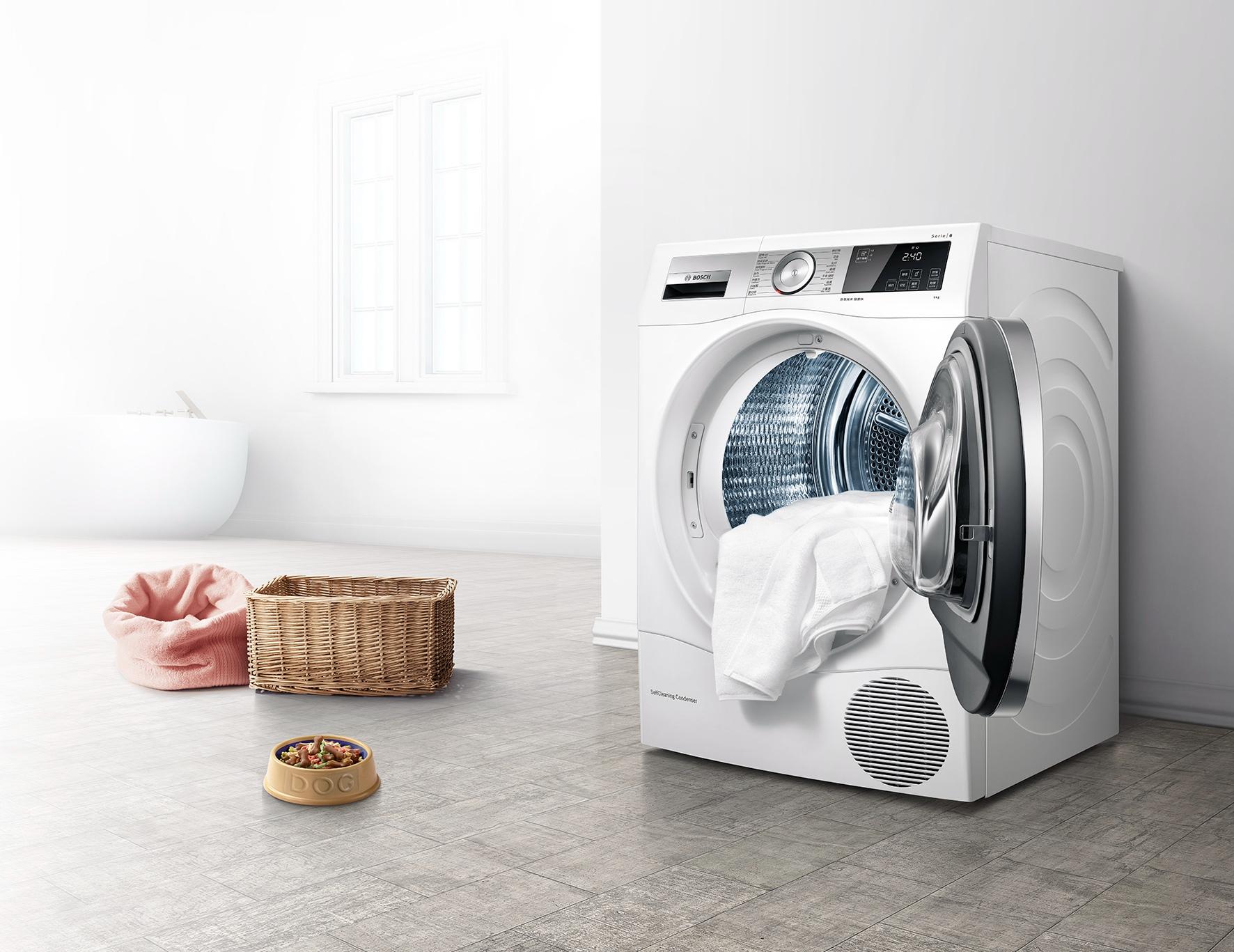 博世6系干衣机全新上市,开启室内干衣新时代