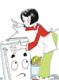 洗衣机未停勿衣服 11岁男童手指被绞断